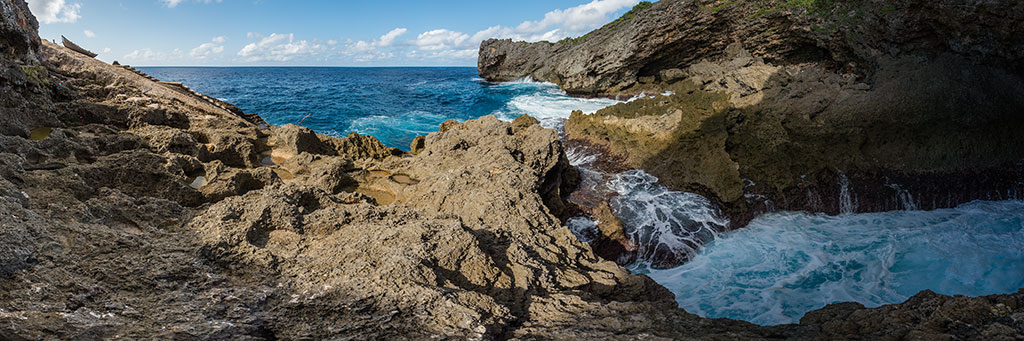 The cliffs surrounding all of Itbayat in Batanes, Philippines