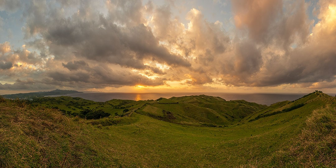 Sunset at the Rolling Hills