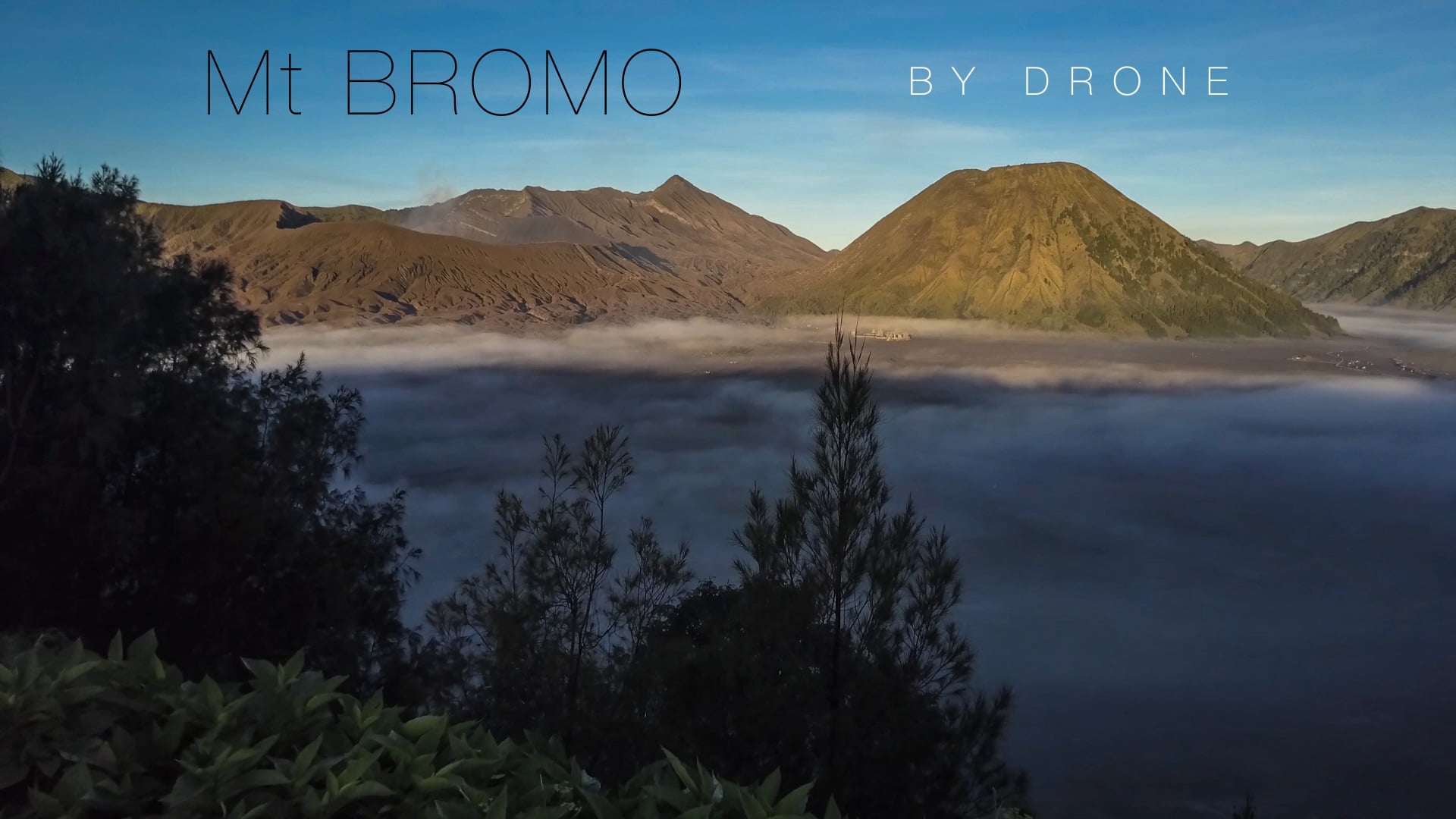 Mt Bromo by Drone – Makes Mars Look Like a Boring Place!